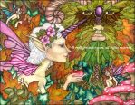 The Greenman's Grove by victoriagriffinart