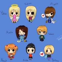 More Chibis by xxxRinRulesxxx