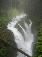 Sol Duc Falls..Olympic National Park by pokemontrainerjay