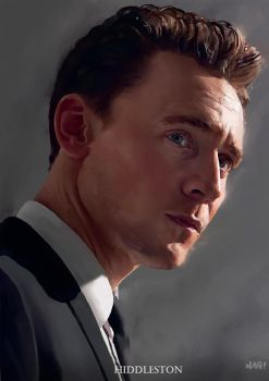 Hiddleston by Paganflow