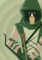 GREEN ARROW by RobTariArt