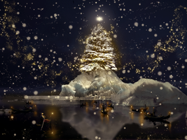 The Grand Christmas Tree by moontown0125