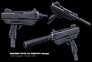 Machine Pistol by psionic