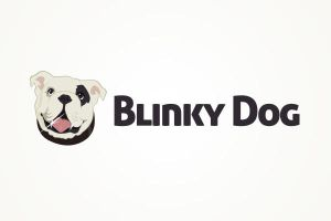 Logo 45: Blinky Dog by zainadeel