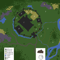 new location! map of the black castle by lylyhowrse