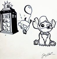 Doctor Who: Stitch and GIR by jamesdavis86