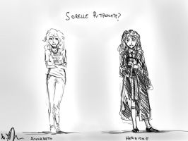 Annabeth and Hermione.. sisters? by Sango94
