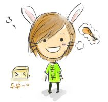 Onew:Bunny by raintrix