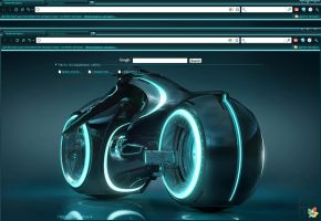 TRON Theme res. 2020x1200 by iyanin