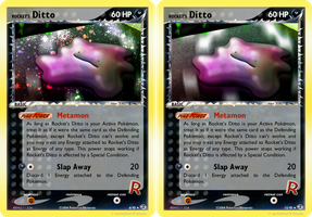 Rocket's Ditto Card by icycatelf