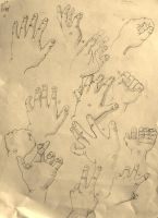 Hand Doodles2 by RougeCerberus