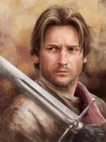 Game of Thrones: Jaime Lannister by qi-art