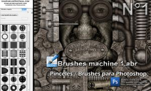 Brushes machine 1 - PAWLUK by ipawluk