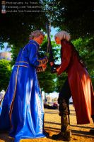 dante and vergil clash by DanteJackpot