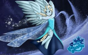 Elsa Wallpaper 1 [MLF] by NamyGaga