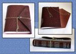 Embossed Leather Journal by Bluelisamh