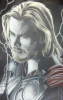 Thor Colored up by corysmithart