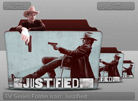 Justified TV Serie Folder Icon by atty12