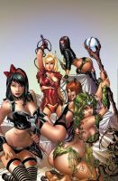 Cosplay Comic Book One Shot by Zenescope!!! by GrinningRedFox