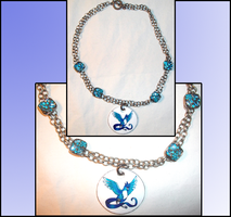 Articuno Necklace by Magegirl-Nino