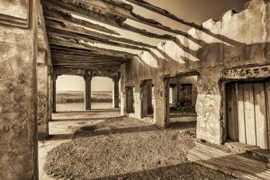 Abandoned House by the Sea - 07 by GiardQatar