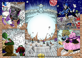 Dragon Ball Multiverse p8-9 by Fayeuh