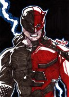 Daredevil (Markers) by emmshin