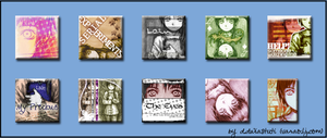 Serial Lain Icons by odoll