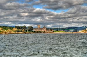 Inchcolm Abbey by adischordantrhyme