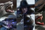 Vampire hunter D. Details by Feael