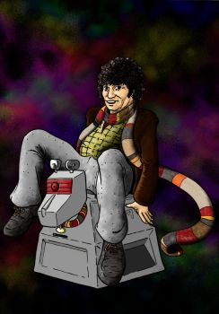 the fourth doctor by superdunk