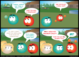 SC366 - Aquarius Thanksgiving 6 by simpleCOMICS