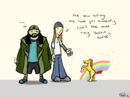 Jay and Silent Bob by rhinestoner