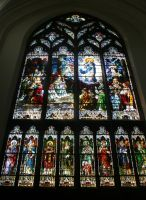 Denver Cathedral Window 18 by Falln-Stock