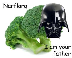 Darth Broccoli by grievousfan