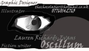 Oscillum Business Card 2 by Oscillum