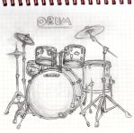 Drums by LuneDeLaNeige