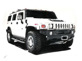 hummer h2 by xeonos