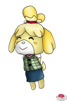 Isabelle Chibi by cavycakeprints