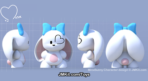 MinxBunny Official Toy Renders by JinxBunny