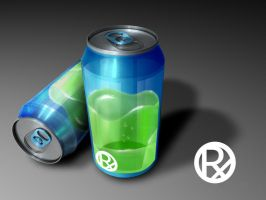 Rx energy drink by ampedCT