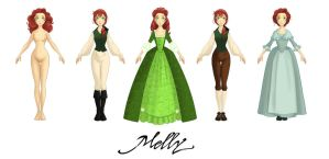 Melly - some variations by Katikut