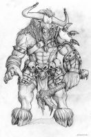 Minotaur - reworked by willowWISP