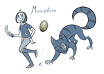 Gemsona Week - Moonstone by comixqueen