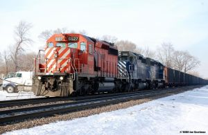 The Indiana RR coal train by JDAWG9806