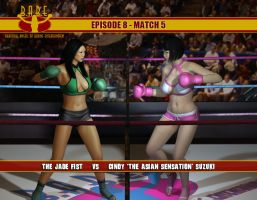 Episode 8: The Jade Fist vs. The Asian Sensation by cpunch