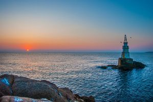 Ahtopol Lighthouse, Bulgaria by Bomb-Creator