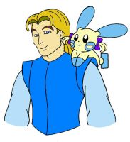 John Smith and Minia Colored by Wanda92