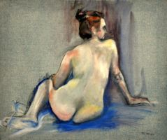 Blue Nude by BRipin
