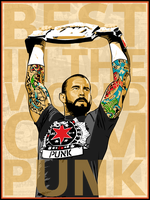 BEST IN THE WORLD CM PUNK by fadingaway